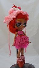Load image into Gallery viewer, (#12) 75 Apples Art- Neo Blythe Doll OOAK- BLYTHE Doll Custom TBL Sweet Candy McQueen