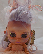 Load image into Gallery viewer, (#11) 75 Apples Art- Resin BJD Doll fairy Morpho Wings l OOAK