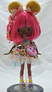 (#20) 75 Apples Art- Neo Blythe Fashion こんにちは (KONNICHIWA) Doll BJD- BLYTHE Doll Custom TBL Harajuku