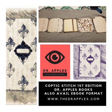 the-dr-apples-store - Dr. Apples First Limited- Edition Coptic Stitched - Physical Book