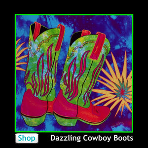 Cowboy Boots from Jan Rickman