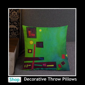 Colorful Throw Pillows in many designs