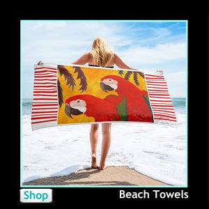 Colorful Beach Towels from Jan Rickman