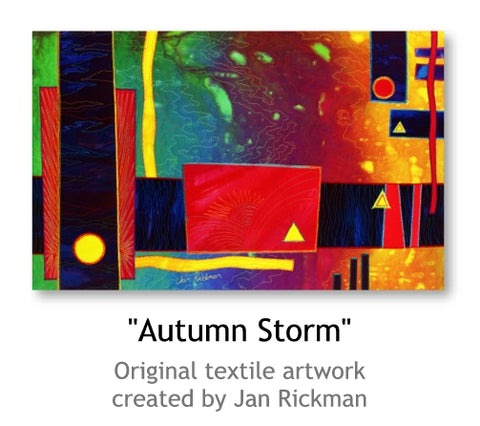 Autumn Storm by Jan Rickman