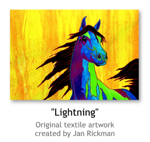 Lightning by Jan Rickman Colorado Fine Artist