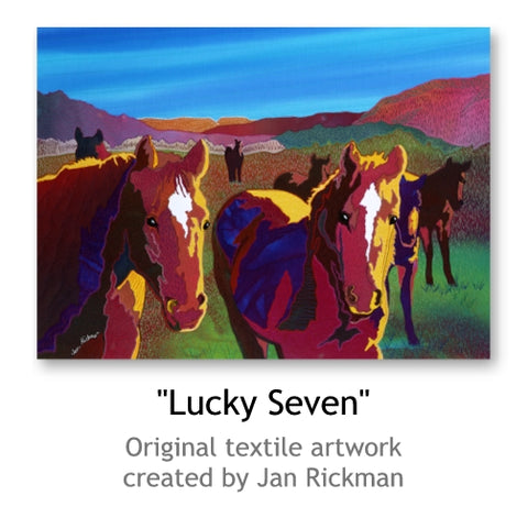Lucky Seven by Jan Rickman