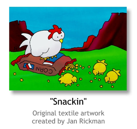 Snackin by Jan Rickman