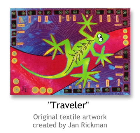 Traveller by Jan Rickman