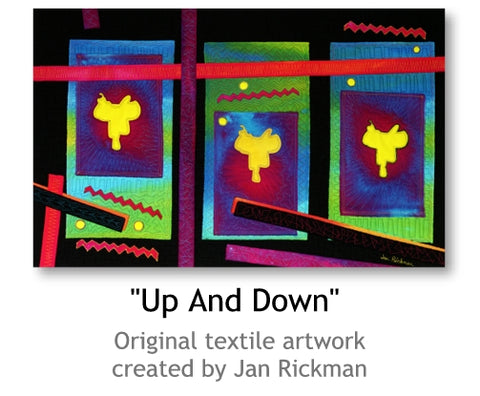 Up and Down by Jan Rickman