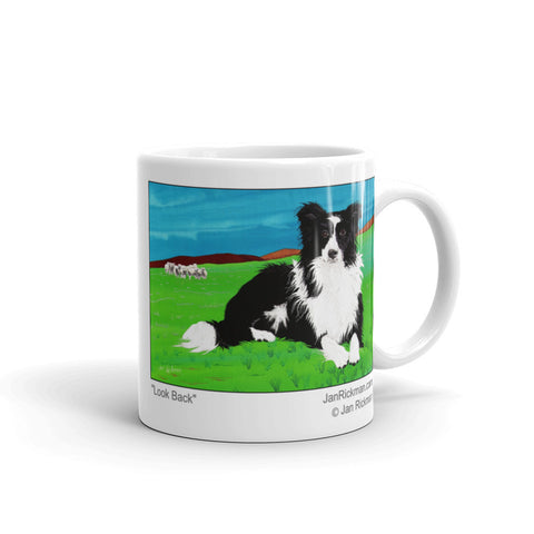 Border Collie Mug - Jan Rickman