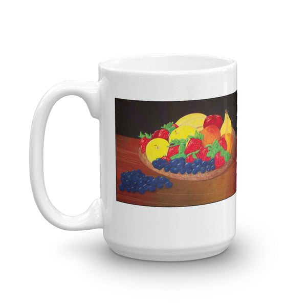 Fruit Basket Bounty Coffee Mug - Jan Rickman