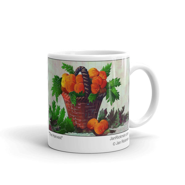 Peaches at Harvest Time Mug - Jan Rickman