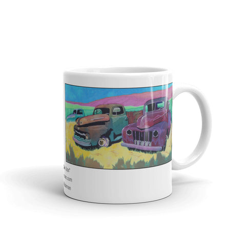 Pick Up Truck Mug - Jan Rickman