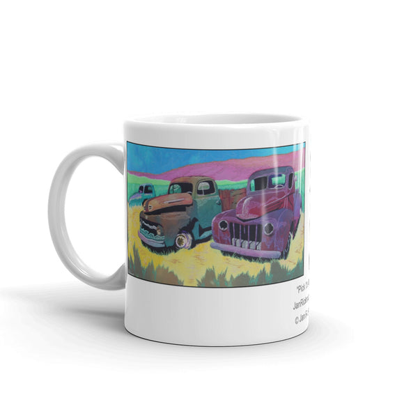 Pick Up Truck theme on Coffee Mug