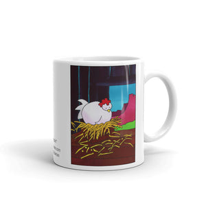 Sleepy Chicken Design by Jan Rickman 11 oz