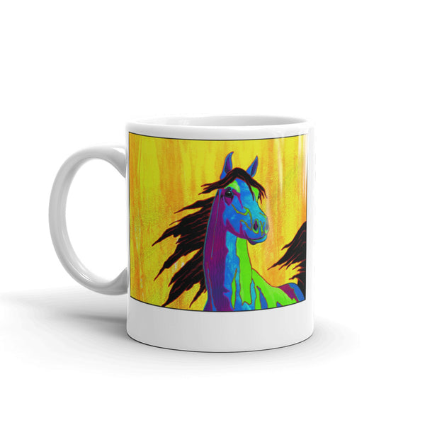 Beautiful Stallion Mug - Jan Rickman