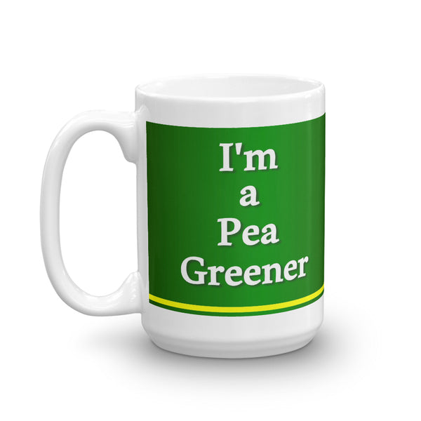 Official Pea Green Saturday Night Mug - Jan Rickman