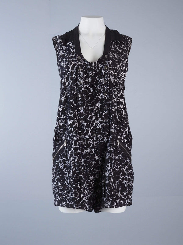 Abstract Print Playsuit