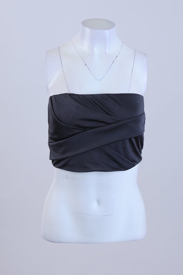 Textured Bandeau Top