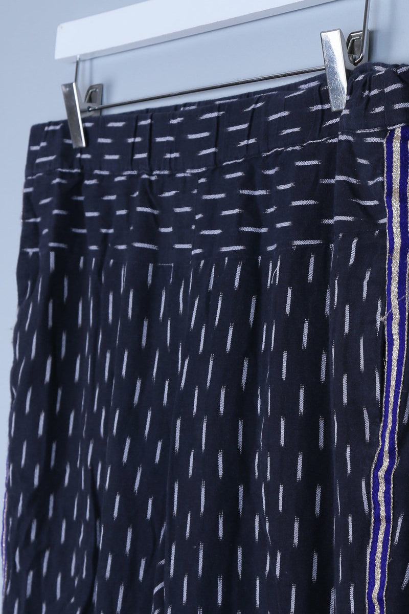Patterned Side Sparkle Trousers