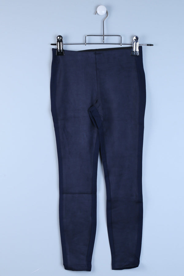 Suede Look Trousers
