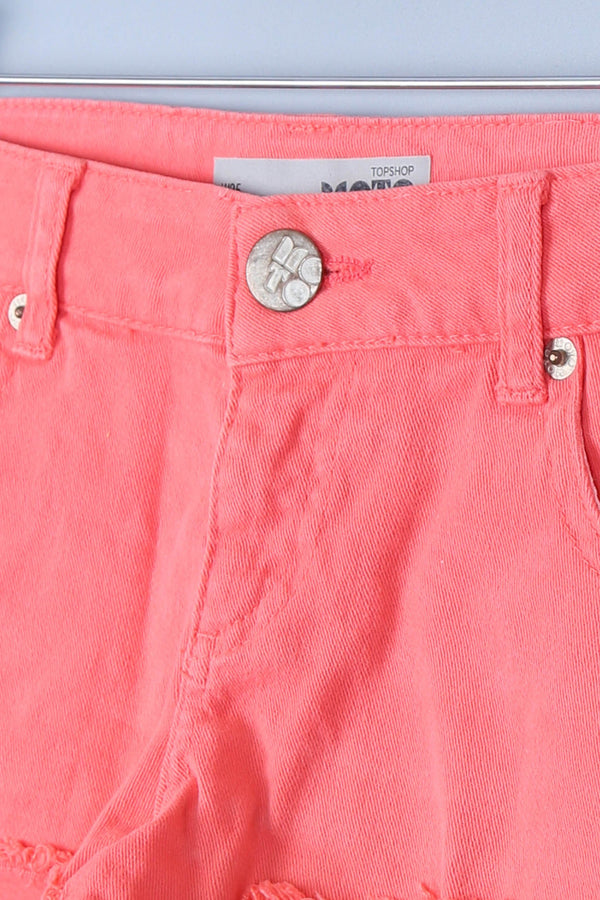 Mini Frayed Hem Shorts