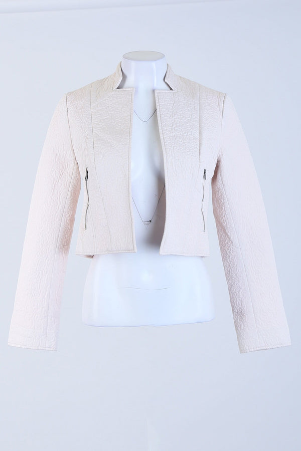 Short Textured Jacket