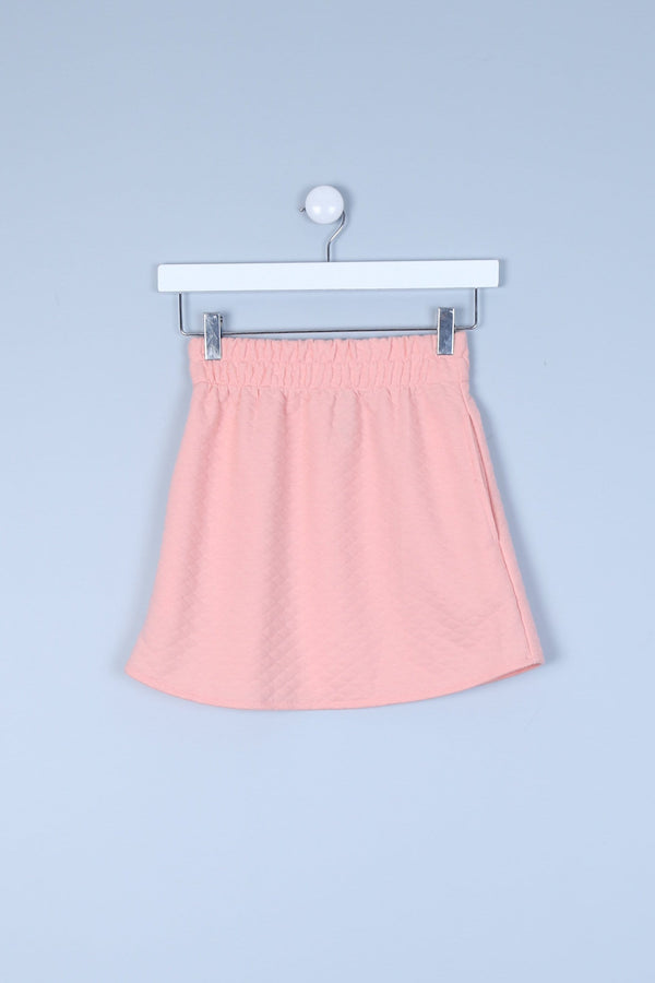 Mini Skirt With Side Pockets & Elasticated Waist