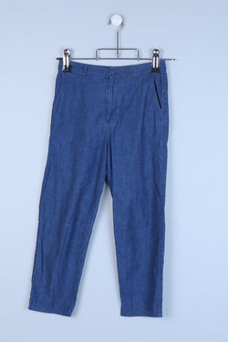Denim Look Trousers