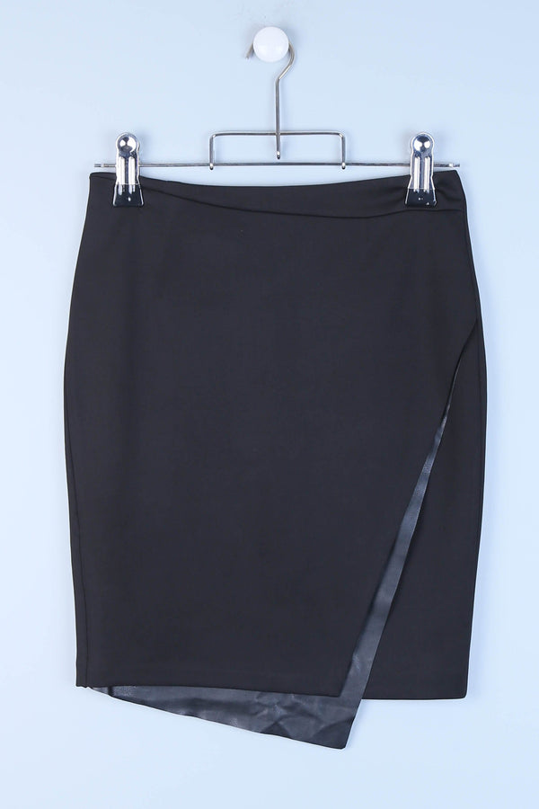 Tailored Wrap Skirt