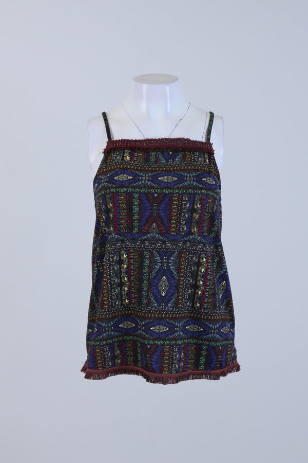 Patterned Cami Top