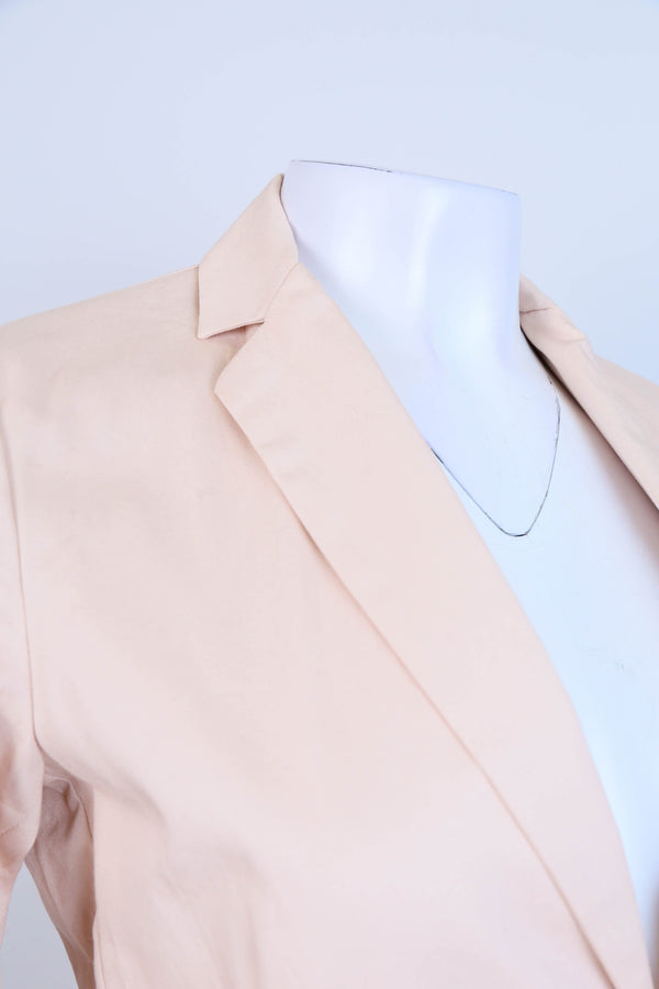 Front Button Long Line Blazer