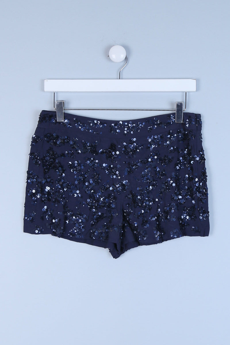Sequined Mini Shorts