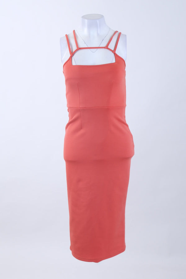 Strappy Detailed Fitted Dress