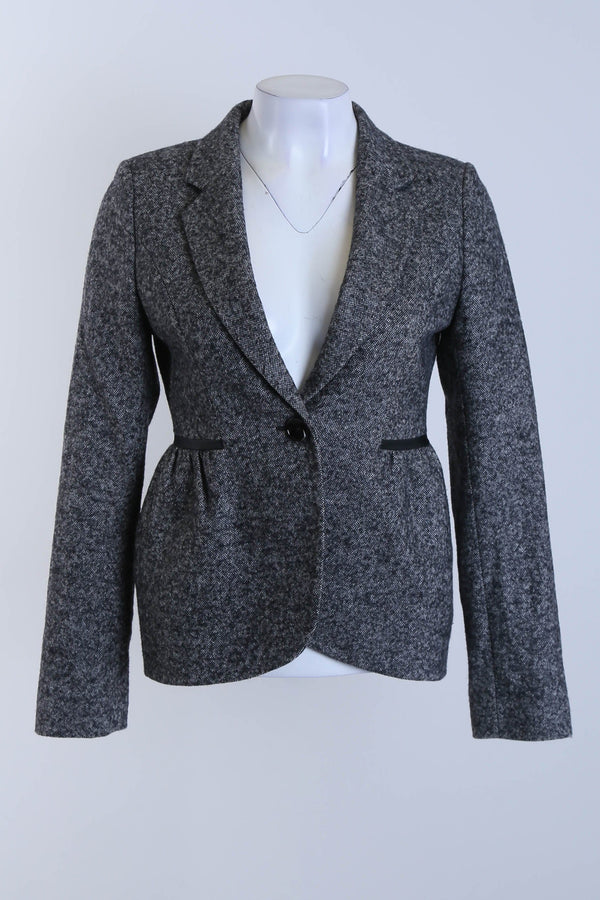 Textured Tailored Jacket