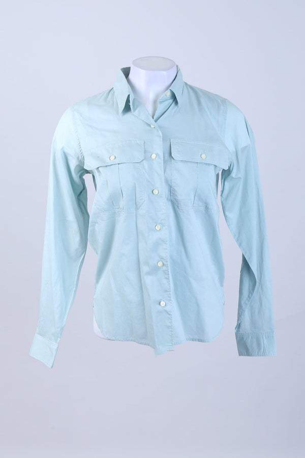 Long Sleeve Front Button Shirt
