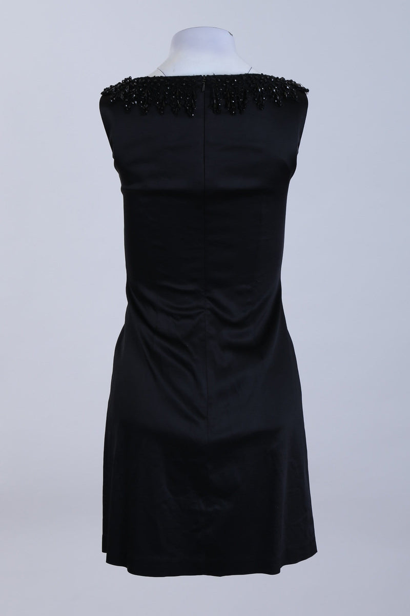 Gem Collared Fitted Dress