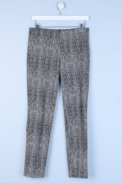 Patterned Regular Fit Trousers