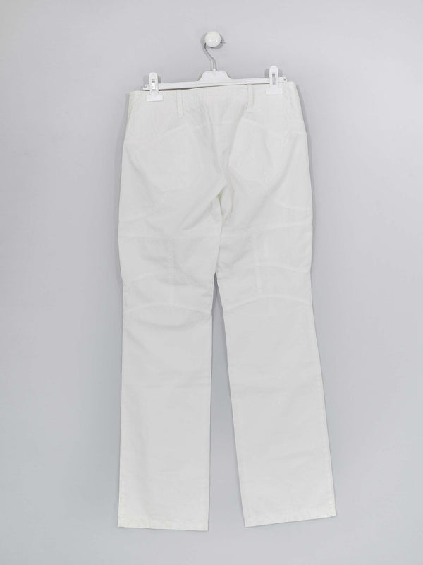 White Cotton Trouser
