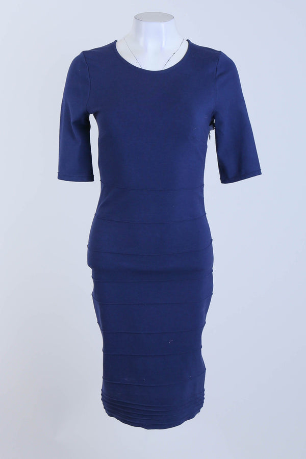 Bodycon Dress With 3/4 Length Sleeves