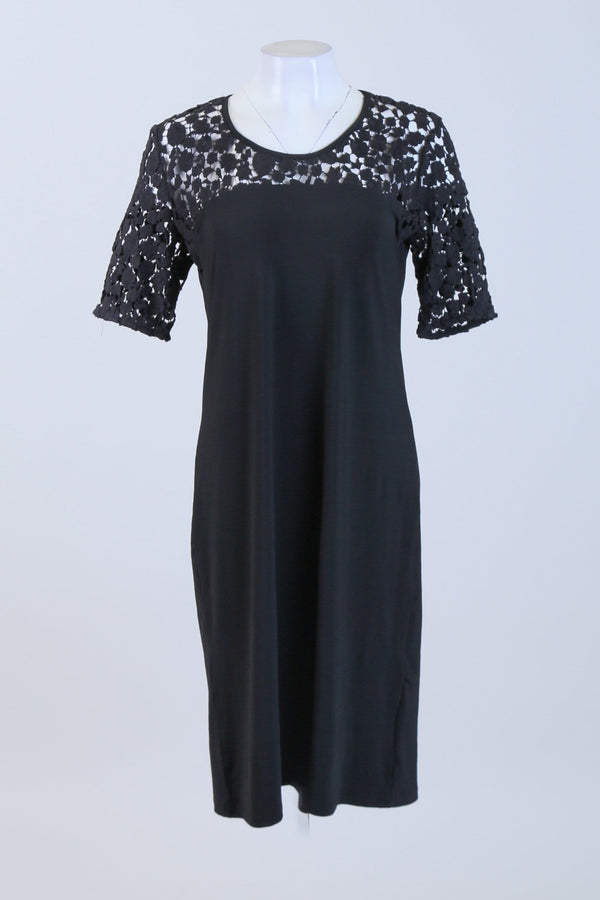 Lace Yoke Dress