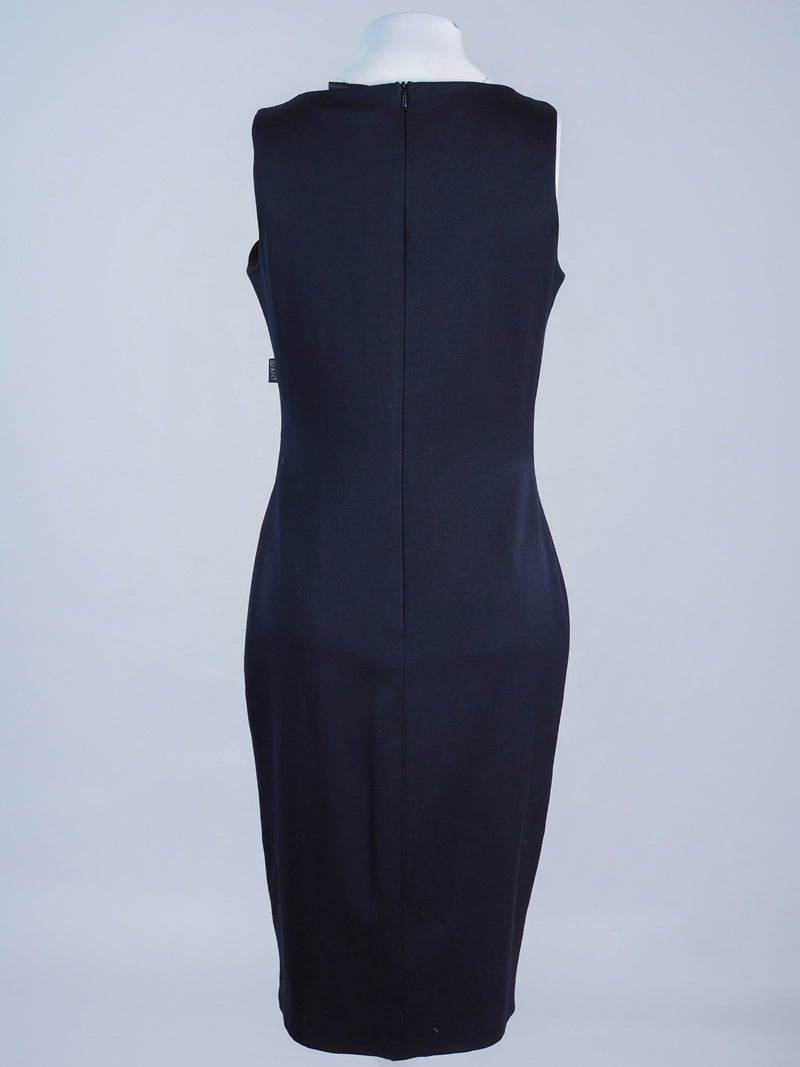 Fitted  Detailed Midi Dress
