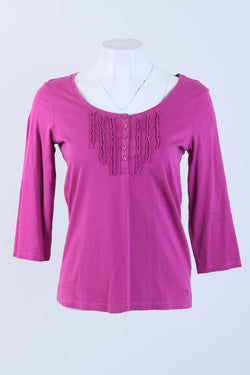 Detailed Side Tie Cami Top