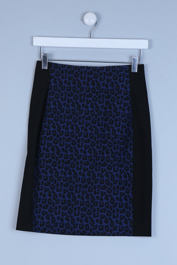 Animal Print Petite Skirt