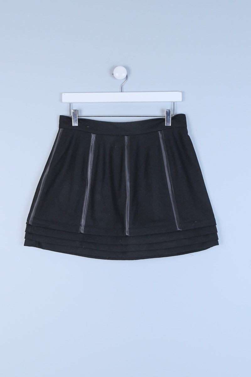 Layered Mini Skirt