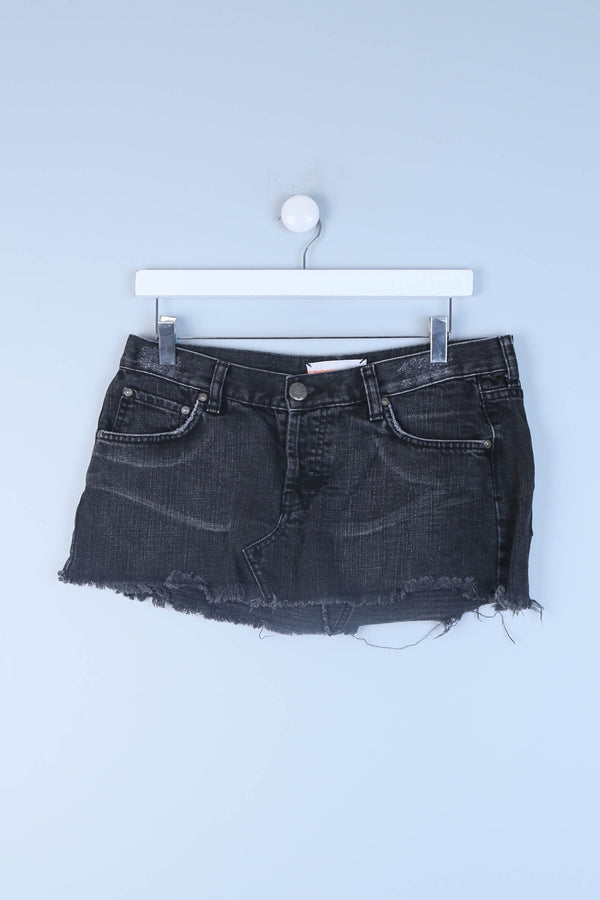 Belted Mini Shorts