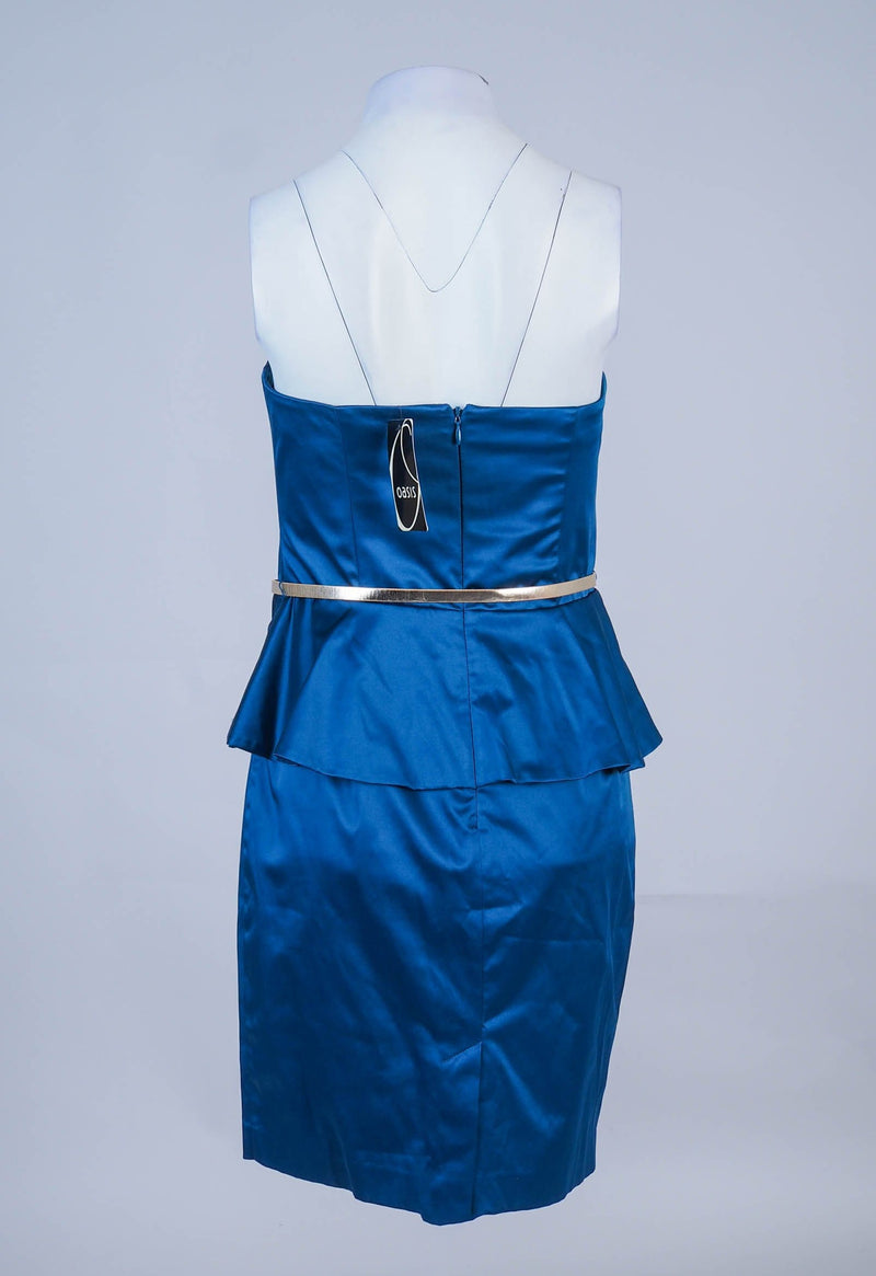 Strapless Mini Dress with belt