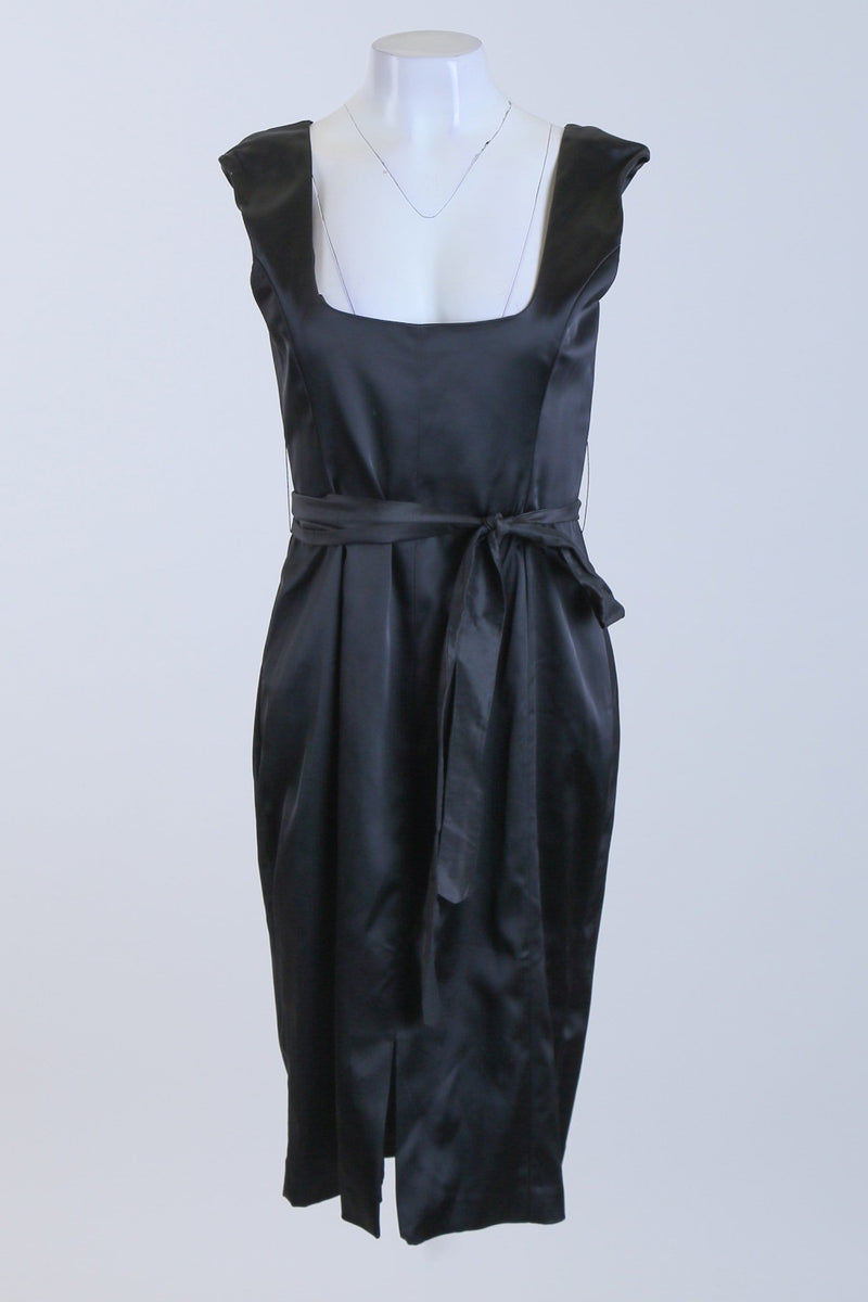Belted Sleeveless Dress