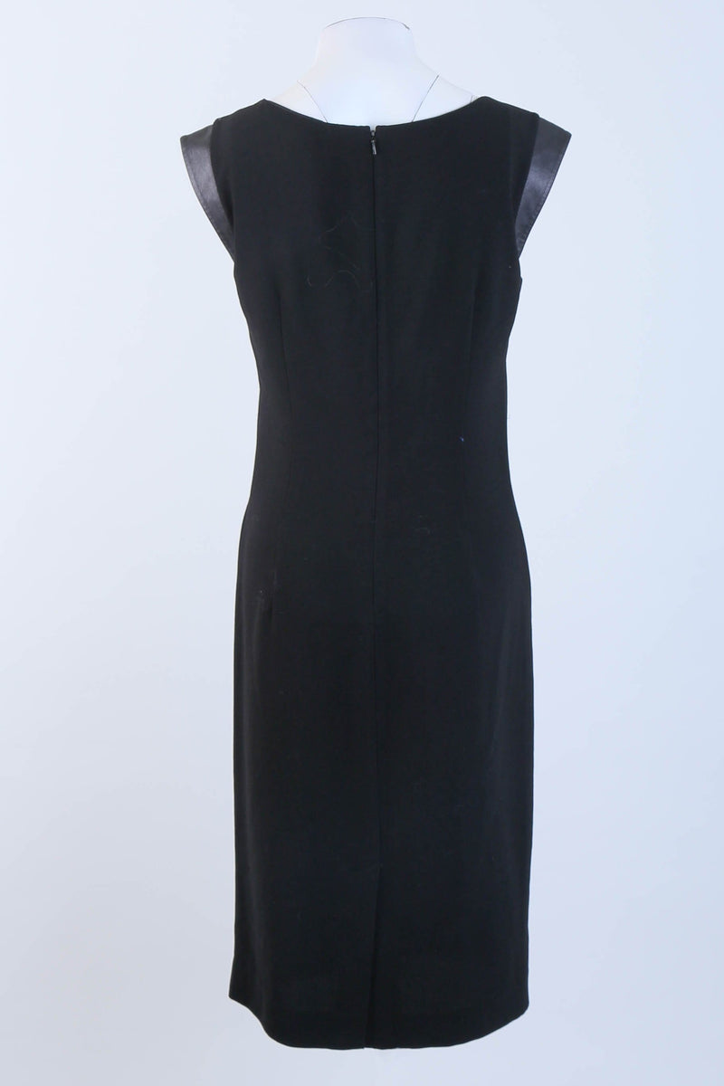 Tailored Round Neck Dress