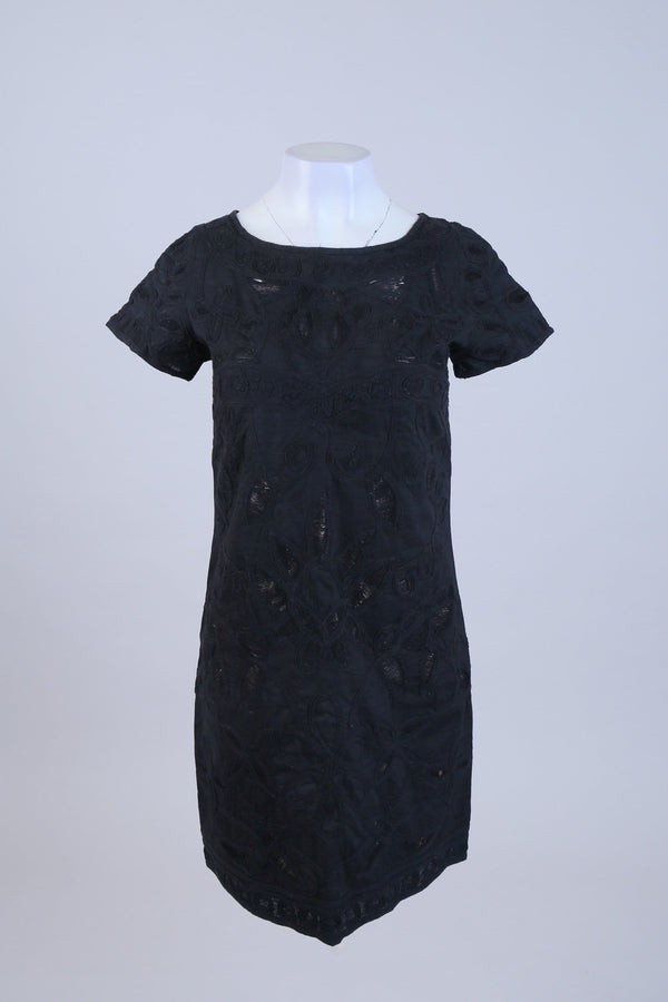 Jacquard Detailed Dress